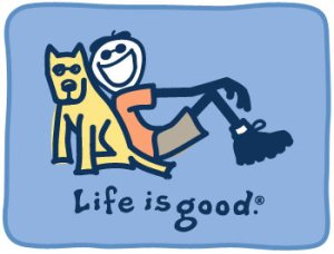 Life is good. Especially with a Grendel dog to share it with.