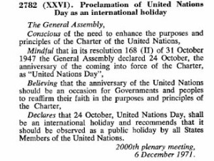 UN resolution copy