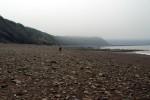 Joggins cliff beach
