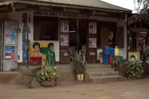 Salon in Tanzania
