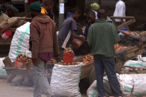 Tanzania market place